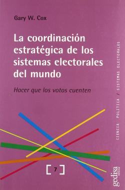 La coordinación estrategica sistemas electorales del mundo
