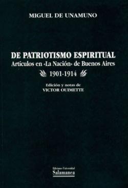 De patriotismo espitirual:articulos nacion buenos aires
