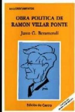A vida e a obra de Ramón Villar Ponte