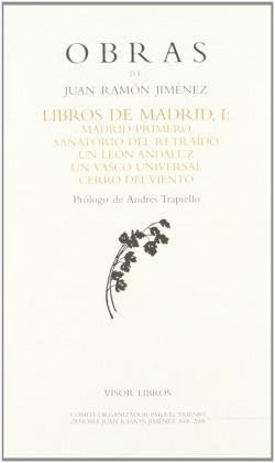 LIBROS DE MADRID I OBRAS J.R. JIMENEZ-31 MADRID PRIMERO-SANA