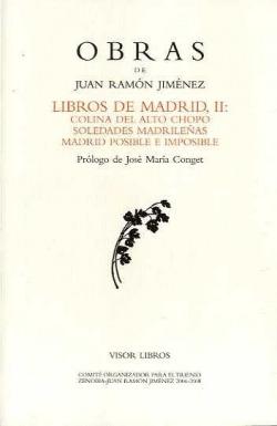 LIBROS DE MADRID II OBRAS J. R. JIMENEZ -32 COLINA DEL ALTO