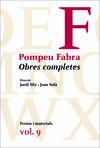 Obres completes Pompeu Fabra vol.9