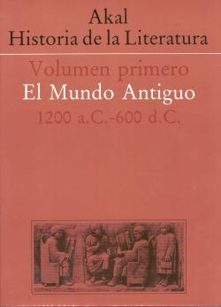 Historia de la Literatura. Vol I