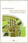 DICCIONARIO URBANOCONCEPTUAL Y TRANSDICIPLINAR CONCEPTUAL Y