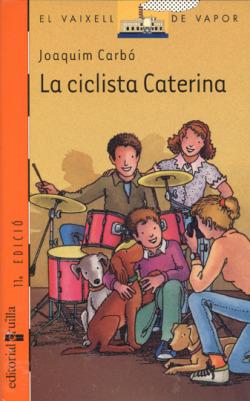 La ciclista Caterina