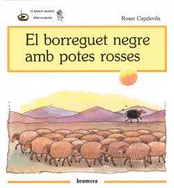 El borreguet negre amb potes rosa