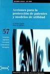 Acciones para la protección de patentes y modelos de utilidad - Lec 2000
