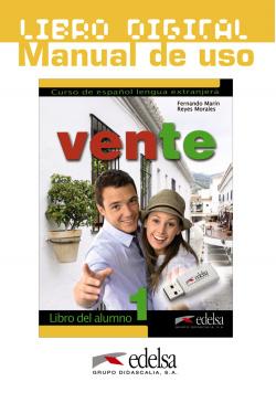 Vente 1 (A1/A2) - libro digital + manual de uso profesor