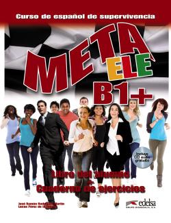 META ELE B1+.(LIBRO ALUMNO + EJERCICIOS)