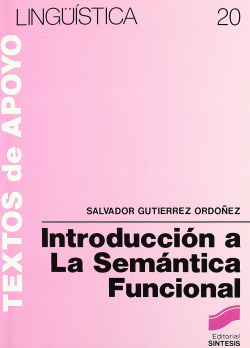 INTRODUCCION A LA SEMANTICA FUNCIONAL