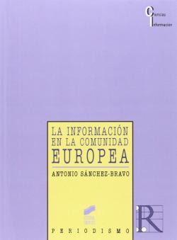 INFORMACION COMUNIDAD EUROPEA -