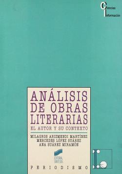 ANALISIS DE OBRAS LITERARIAS.-