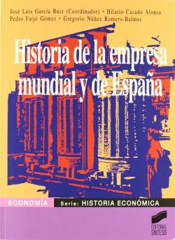 HISTORIA DE LA EMPRESA MUNDIAL Y DE ESPAÑA-