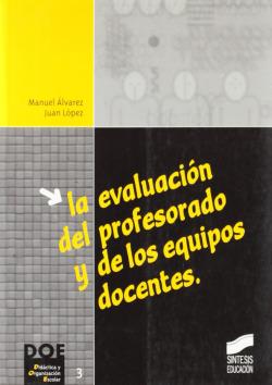 EVALUACION DEL PROFESORADO Y EQUIP. DOCENTES -