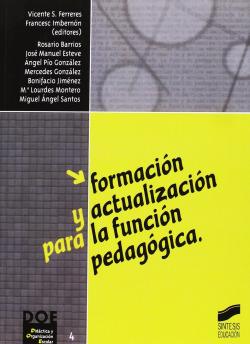 FORMACION Y ACTUALIZACION FUNCION PEDAGOGICA -