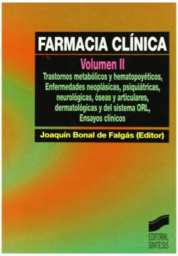 FARMACIA CLINICA VOL. II -