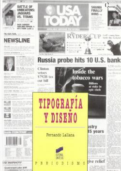 TIPOGRAFIA Y DISEÑO.