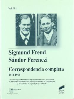FREUD/ FERENCZI VOL II. 1 CORRESPONDENCIA COMPL-