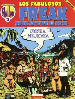 Obras Shelton, 2.Freak Brothers Odisea Mejicana