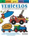 Mi primer gran libro de pegatinas con vehículos