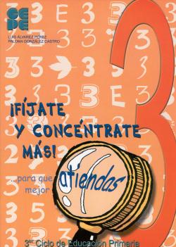 FIJATE Y CONCENTRATE MAS 3 - 3r CICLO PRIMARIA