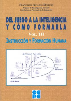 DEL JUEGO A INTELIG.Y FORMARLA III
