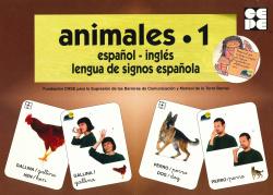 ANIMALES 1 ESPAÑOL INGLES LENGUA DE SIGNOS ESPAÑOLA