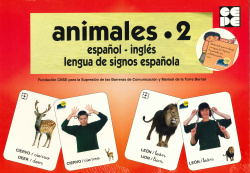 ANIMALES 2 ESPAÑOL INGLES LENGUA DE SIGNOS ESPAÑOL