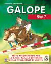 Curso de equitacion galope. nivel 7