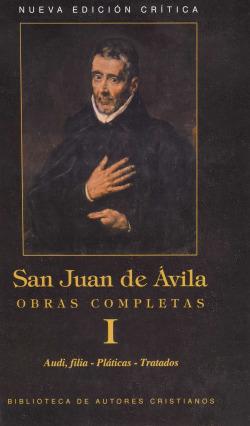 I.san juan de Ávila.obras completas
