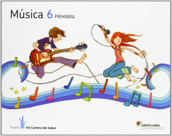 (CAT).(12).MUSICA 6E.PRIM.(+CD).(ELS CAMINS)