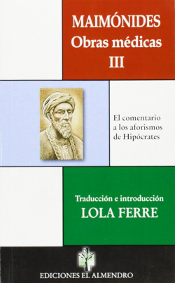 Maimonides Obras Medicas Iii