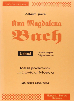 Albúm para Ana Magdalena Bach urtext