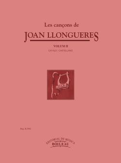 Les cançons de Joan Llongueres