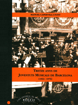 13 anys de Joventuts Musicals de Barcelona (1963-1976)