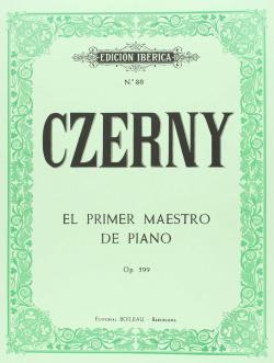 El primer maestro piano op.599, op.100