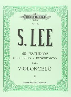 Estudios para violoncelo Vol.II