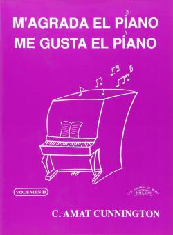 M´agrada en piano/Me gusta el piano