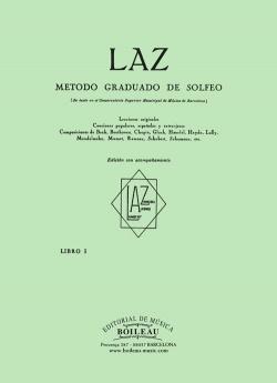 Laz:método de solfeo 1º acompañamiento