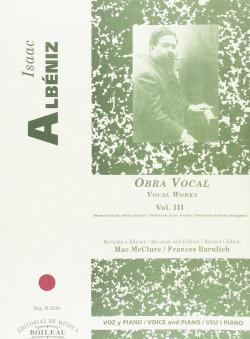 Integral de las obras para voz y piano