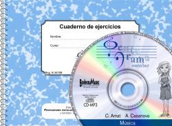 Pentagrama Escolar 3. CD + Cuaderno de ejercicios (C)