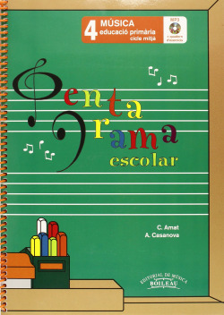 Pentagrama escolar 4:quadern d� exercices