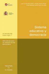 Sistema educativo y democracia