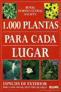 1000 plantas para cada lugar