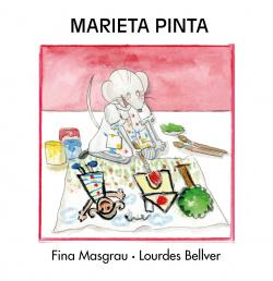 Marieta pinta majusculas