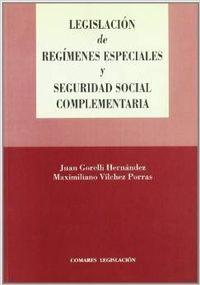 Legislacion de regimenes especiales y seguridad social complementaria