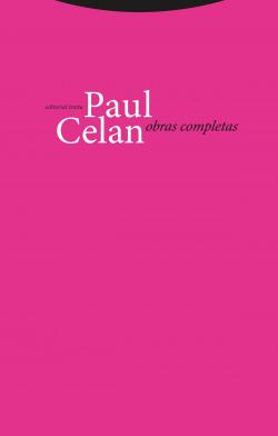 Paul Celan: Obras completas