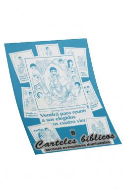 Carteles Biblicos. Ciclo B.(Accion pastoral)