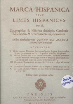 Marca hispánica sive limes hispanicvs