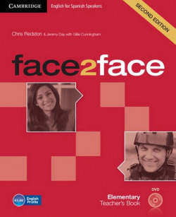 (TCHS).(13).FACE2FACE ELEMENTARY (TEACHER WITH DVD-ROM)